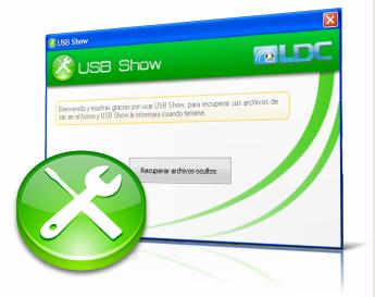 Programas para procurar arquivos ocultos UsbShow.