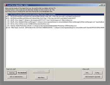 Programa para achar arquivos ocultos HiJackThis.